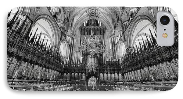 Lincoln Cathedral The Choir II IPhone Case by Jack Torcello