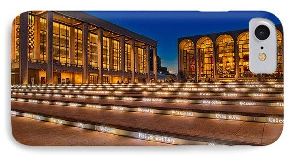 Lincoln Center Phone Case by Susan Candelario