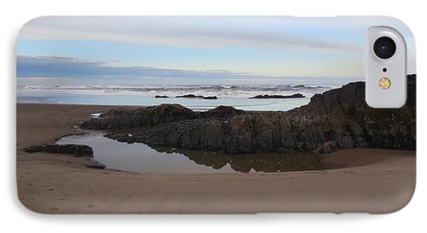 Lincoln City Beach IPhone Case