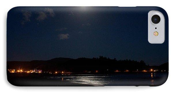 Lincoln City Moonlight Phone Case by John Daly