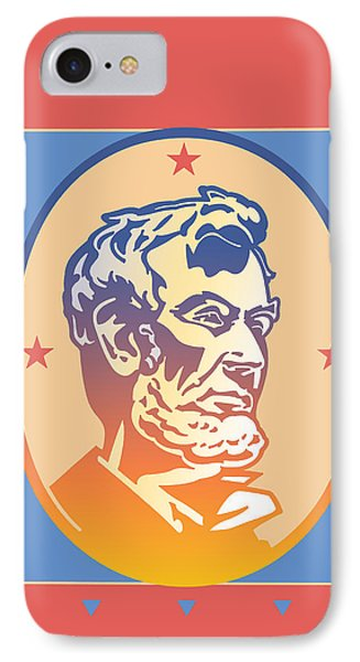 Lincoln IPhone Case by David Chestnutt