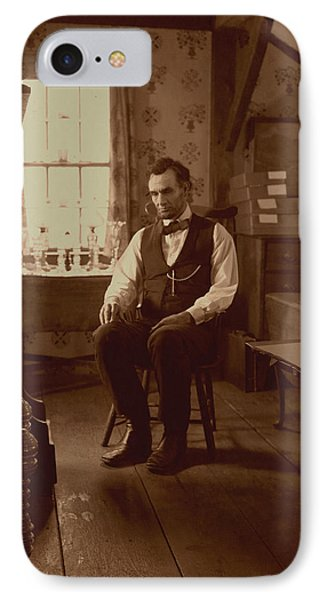 Lincoln In The Attic Phone Case by Ray Downing