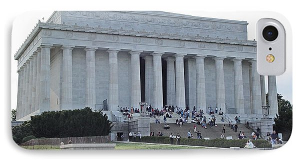 IPhone Case featuring the photograph Lincoln Memorial 2 by Tom Doud