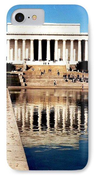 Lincoln Memorial IPhone Case by Daniel Thompson