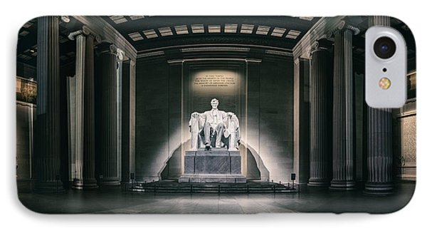 Lincoln Memorial Phone Case by Eduard Moldoveanu