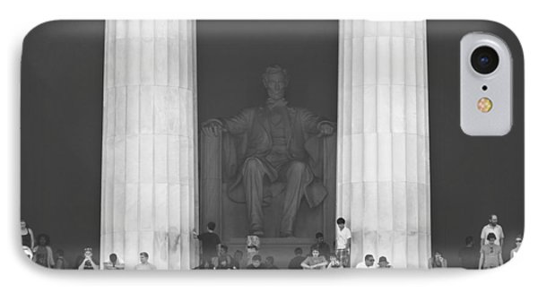 Lincoln Memorial - Washington Dc IPhone 7 Case by Mike McGlothlen