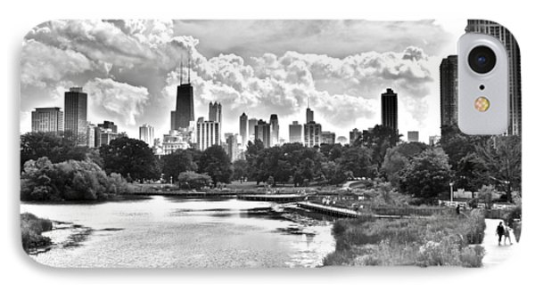 Lincoln Park Black And White IPhone Case