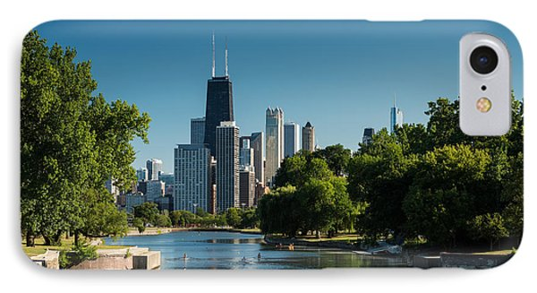 Lincoln Park Chicago IPhone Case by Steve Gadomski