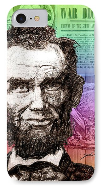 Lincoln's Billboard Of History IPhone Case