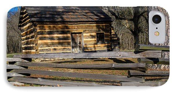 Lincoln's Boyhood Home Phone Case by Mark Bowmer