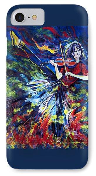 Lindsey Stirling. Dancing Violinist IPhone Case