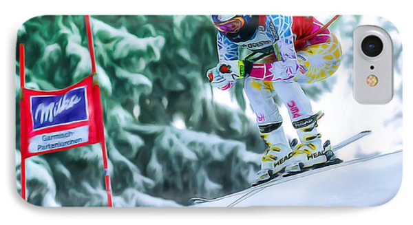 Lindsey Vonn IPhone Case by Don Olea