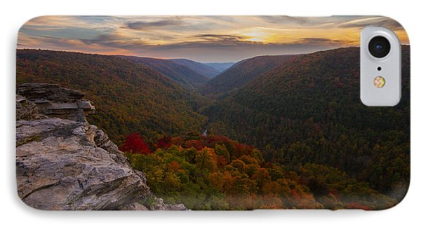 Lindy Point Sunset At Blackwater Falls In West Virginia IPhone Case