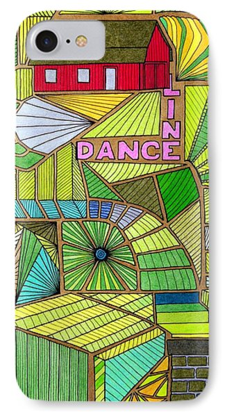 Line Dance IPhone Case