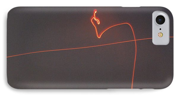 Linear Abstract Fireworks  Phone Case by Jani Freimann