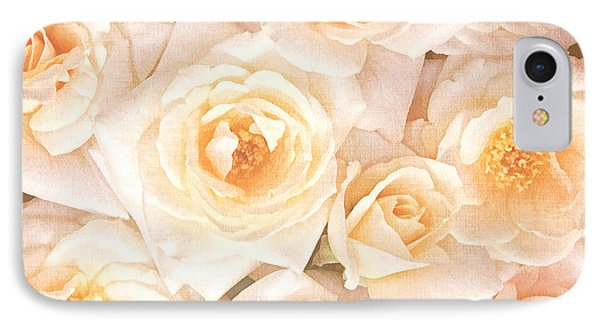 Linen Roses IPhone Case