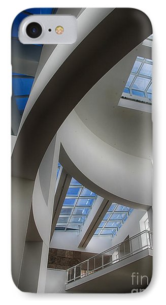 Lines And Curves IPhone Case by Anne Rodkin