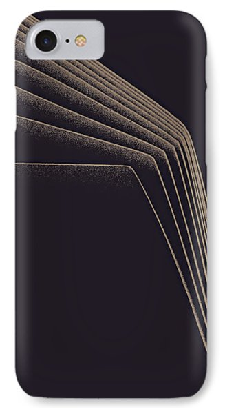 Lines Of Descent IPhone Case by Bob RL Evans