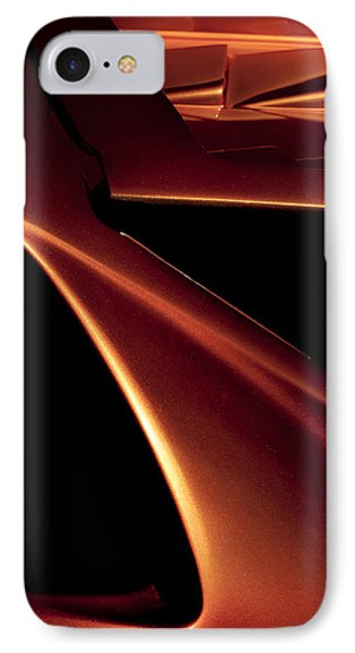 Lines Of Lamborghini - Abstract Auto Art IPhone Case