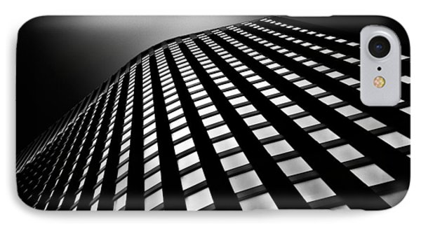 Architecture iPhone 7 Case - Lines Of Learning by Dave Bowman