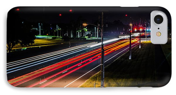 Lines To The Stars IPhone Case by Alan Marlowe