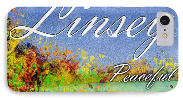 Linsey - Peaceful Phone Case by Christopher Gaston