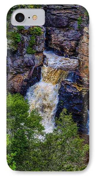 Linville Falls IPhone Case by David Cote