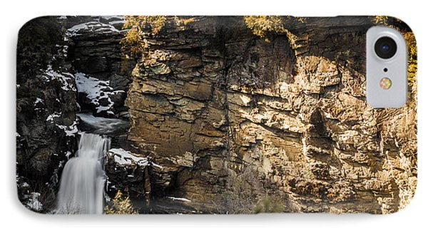 Linville Falls IPhone Case by Serge Skiba