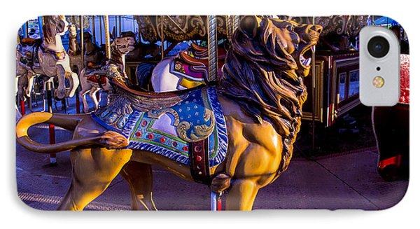 Lion Carrousel  IPhone Case