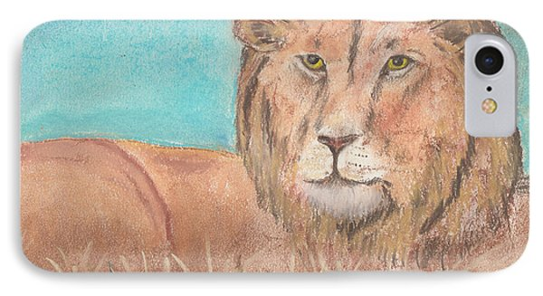 Lion IPhone Case by David Jackson