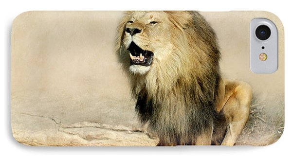 Lion IPhone 7 Case by Heike Hultsch