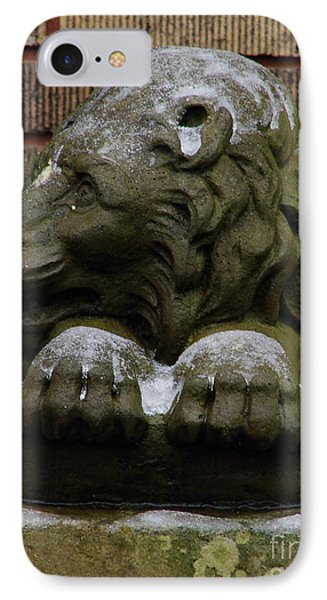 Lion In Winter IPhone Case