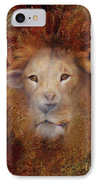 Lion Lamb Face IPhone Case
