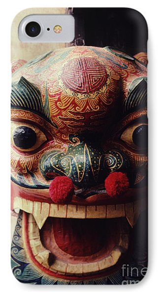 Lion Mask For Chinese New Year Phone Case by Anna Lisa Yoder