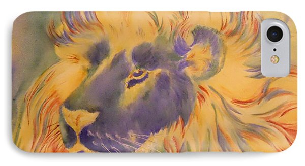 Lion Of Another Color IPhone Case by Summer Celeste