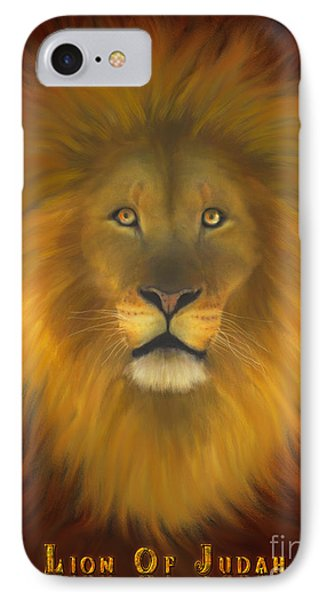 Lion Of Judah Fire In His Eyes 2 Phone Case by Constance Woods