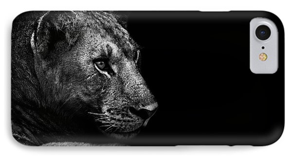 Lion iPhone 7 Case - Lion by Wildphotoart