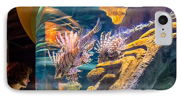 Lionfish Display IPhone Case