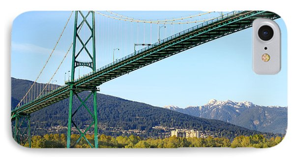 Lions Gate Bridge IPhone Case by Charline Xia