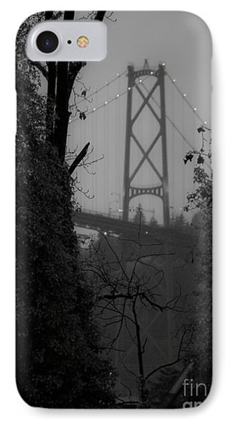 Lions Gate Bridge Phone Case by Nancy Harrison
