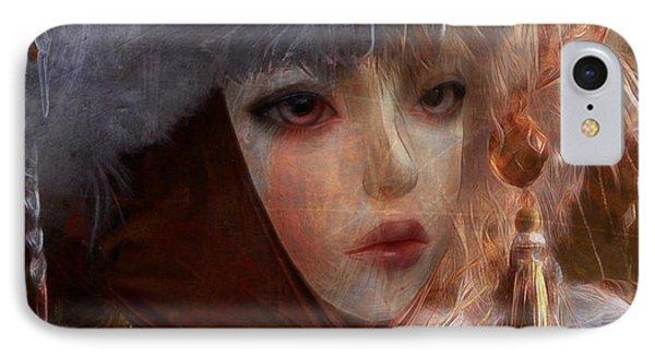IPhone Case featuring the digital art Liouneva Mirankaya by Barbara Orenya