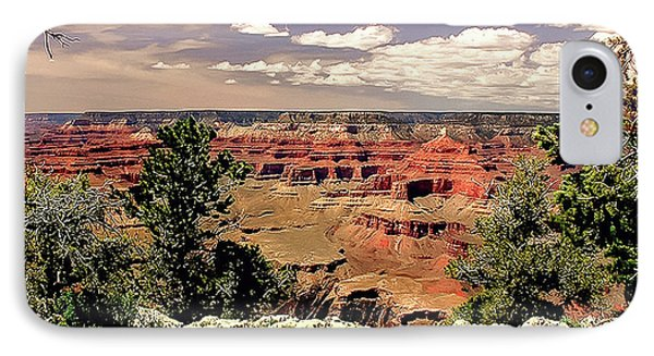 Lipan Point  Grand Canyon Phone Case by Bob and Nadine Johnston