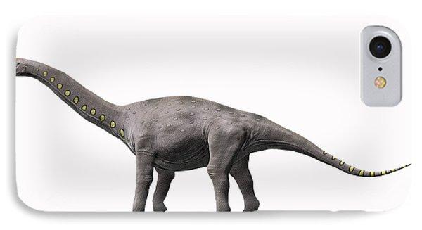 Lirainosaurus Astibae, Late Cretaceous Phone Case by Nobumichi Tamura