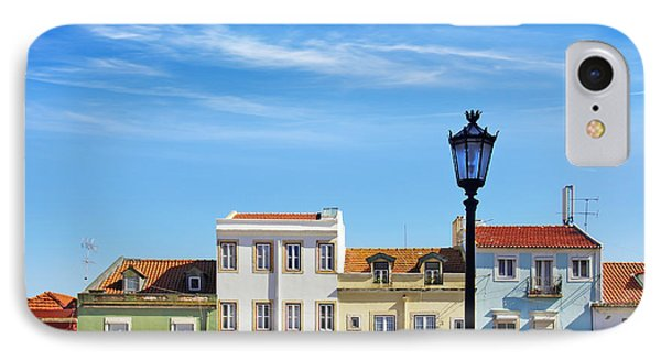 Lisbon Houses Phone Case by Carlos Caetano