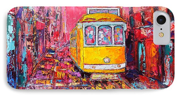 Lisbon Impression Phone Case by Ana Maria Edulescu