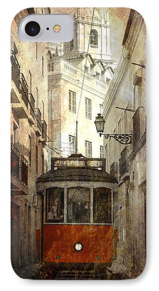 Lisbon Streetcar Phone Case by Daniel Hagerman