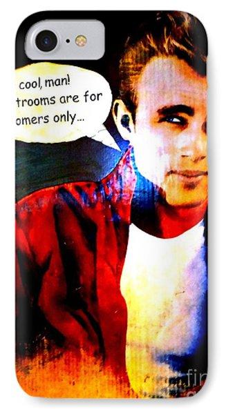 Listen To James Phone Case by Ed Weidman
