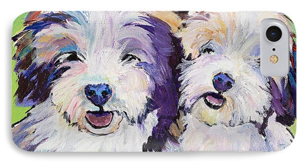 Litter Mates IPhone Case by Pat Saunders-White