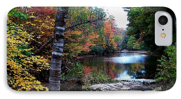 Little Androscoggin River IPhone Case by Mike Breau