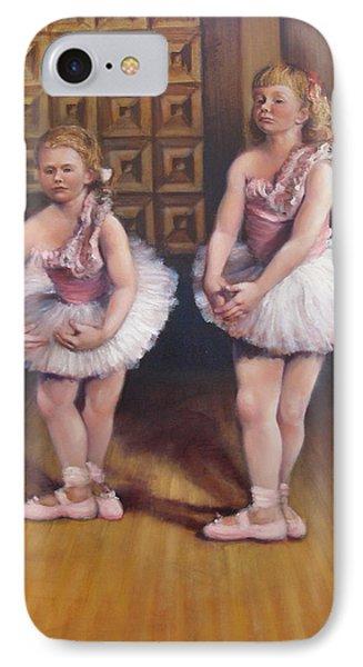 Little Ballerinas  IPhone Case by Donelli  DiMaria
